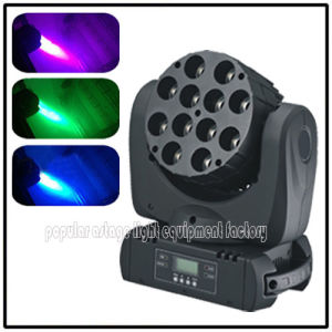 CREE 12*10W 4in1 RGBW LED Lighting Beam Moving Head pictures & photos