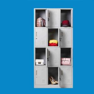 Storage Cabinet Gym Locker Steel Wardrobe School Locker pictures & photos