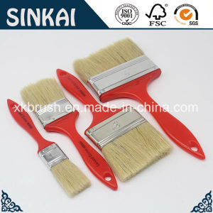 Natural Pig Bristle Painting Brush Cleaning pictures & photos