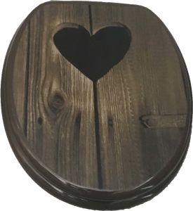 Hot Transfer Printing Moulded Wood Toilet Seat