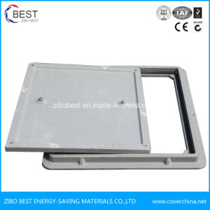 B125 600mm Square Vented Manhole Cover pictures & photos