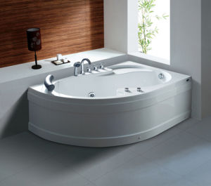 Sanitary Ware Freestanding Whirlpool/Massage/SPA Acrylic Bathtub with Computer Control