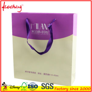 Logo Print Available Fashion Paper Plastic Shopping Bag pictures & photos