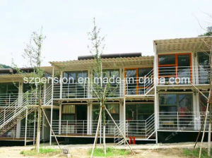 Quick Installation Good Holiday with Mobile Prefabricated/Prefab Container House/Villa pictures & photos