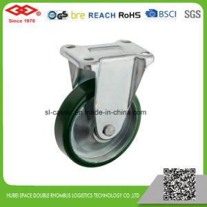 100mm PU Wheel Medium Heavy Duty Industrial Caster (P155-46FB100X40S) pictures & photos