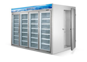 Customize Good Type Beverage Display Supermarket Cabinet Showcase Freezer pictures & photos