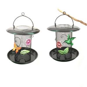 Functional Garden Hanging Decoration Metal Birdfeeder