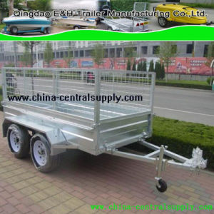 8X4 Tandem Cage/Box Trailer for Sale (CT0080C) pictures & photos