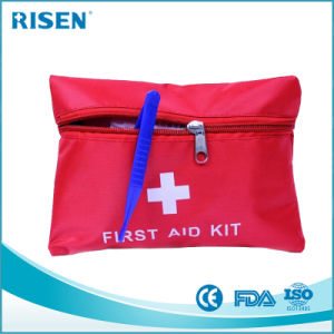 Red Nylon Material Small Gift First Aid Kit Bag pictures & photos