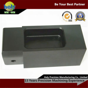 Customized CNC Machining Aluminium Parts Vd Front Horizontal Black Case pictures & photos