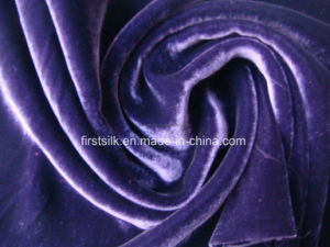 Silk Rayon Velvet Fabric pictures & photos