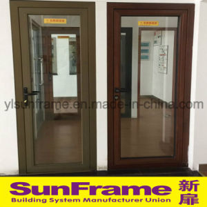 Two Types of Aluminium Casement Door for Office pictures & photos