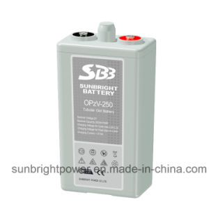 2V250ah Solar Telecom Long Deep Cycle Gel Opzv Battery pictures & photos