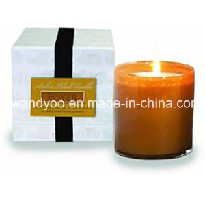Romantic Scented Soy Wax Candle in Glass Jar pictures & photos