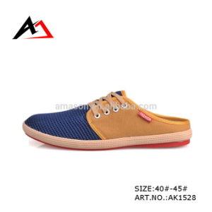 Leisure Canvas Shoes Fashion Wholesale Slipper for Men (AK1528) pictures & photos