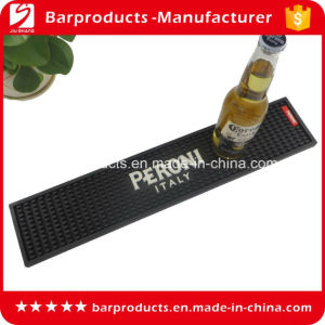 Embossed Logo PVC Beer Mat with High Quality