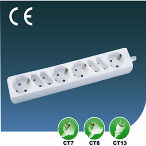 European Style Outlet Extension Socket 8 Ways