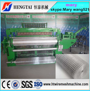 16 Years Factory Full Automatic Welded Wire Mesh Machine in Roll