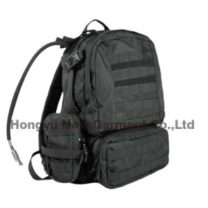 Military and Tactical Assault Combinate Backpack with Hydration Bag (HY-B097) pictures & photos
