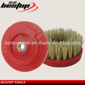 D110mm General Dimond Abrasive Brush with Snail Lock Connection pictures & photos