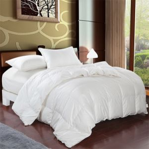 Hot Sales 2-4cm White Duck Feather Quilt pictures & photos