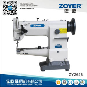 Zoyer Cylinder-Bed Compound-Feed Heavy Duty Big Hook Sewing Machine (ZY2628) pictures & photos