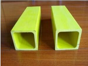 UV Resistant High Strength GRP Square Tube, FRP Square Tube, Fiberglass Square Tube pictures & photos