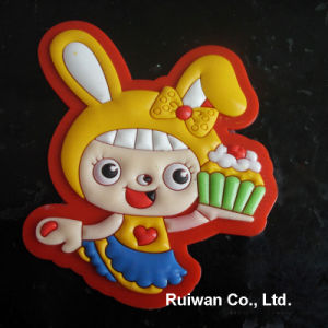 3D PVC Rubber Souvenir Fridge Magnet for Promotional Gifts pictures & photos