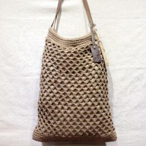 Original Hand-Woven Cotton and Line Bag Lady Handbags