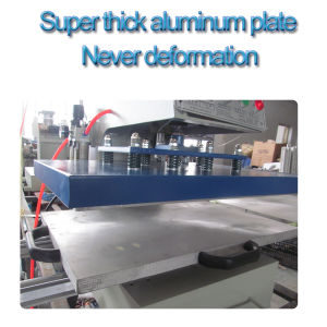 Automatic Pneumatic Dual Station Heat Press Machine pictures & photos