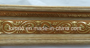Wooden Color PS Decoration Moulding Cornice pictures & photos