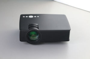 Portable Multimedia Mini LED Projector with USB VGA HDMI AV for Home Entertainment