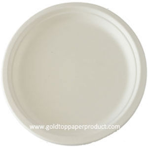 Disposable Round White Paper Plates pictures & photos