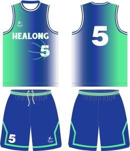 Healong Full Dye Sublimation Basketball Jersey Any Color Custom pictures & photos