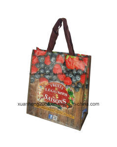 Customized Recycle PP Shopping Bag pictures & photos