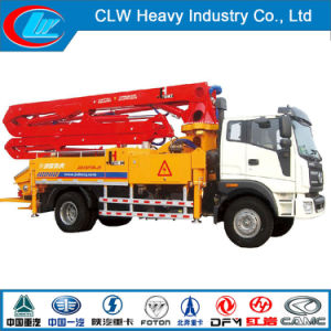 High Quality 52m Truck Mounted Concrete Hydraulic Pump pictures & photos