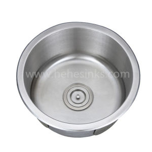 Stainless Steel Round Kitchen Bar Sink, Stainless Steel Sink, Sink, Handmade Sink pictures & photos