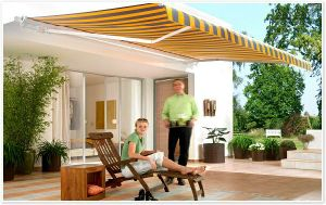 Metal Full Cassette Retractable Awning pictures & photos