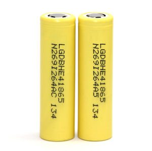 LG He4 3000mAh 35A Battery-Yellow pictures & photos