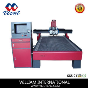 Automatic Spindle Changer CNC Engraving Machine CNC Wood Router pictures & photos