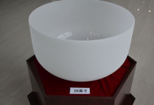 The Top Quality High Purity Quartz Crucible for 20 Inches