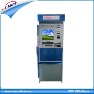 Hospital Self Service Touch Screen Kiosk with Card Dispenser pictures & photos