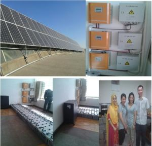 6kw 6000W Residential Solar Panel System Solar Energy Saving System pictures & photos