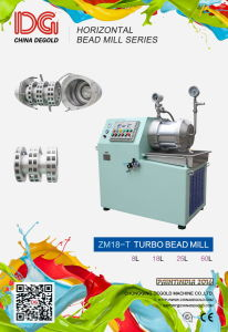 Nano Grinding Mill Machine Price Turbo Type Horizontal Bead Mill pictures & photos