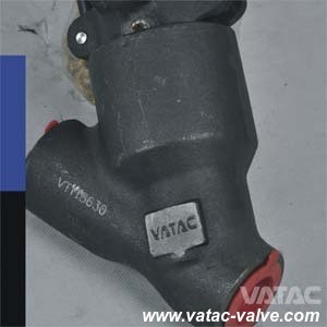 """Y Type 150lb/800lb 2"""" Forged Steel Globe Valve pictures & photos"""