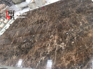 Spanish Middle/Top Range Dark Emperador Brown Marble for Hotel/Commercial Building Decoration Slab pictures & photos