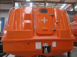 Gravity Luffing Arm Type GRP Open Lifeboat pictures & photos