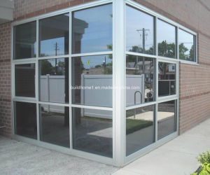 Natural Anodized Silver Aluminium Frame Glass Curtain Wall pictures & photos