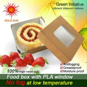 Fast Food Box Packaging with Antifogging Window (K85) pictures & photos
