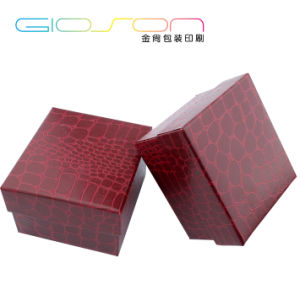 PU Leather Covered Gift Packaging Box for Watches pictures & photos